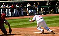 Cleveland Indians vs. Los Angeles of Anaheim (15008304568).jpg