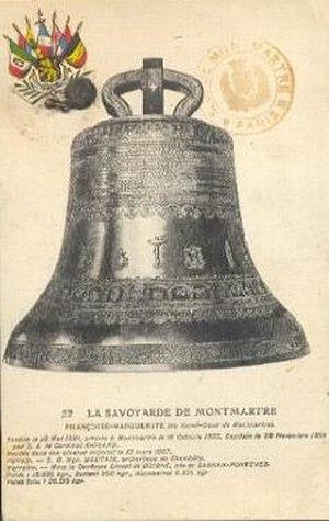 Fonderie Paccard - Image: Cloche La Savoyarde du Sacré Coeur de Montmartre 1907