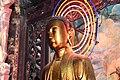 Close view of the main deity of the Vinh Trang pagoda (32134903465).jpg