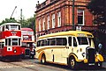 Coach, bus and tram at Crich Tramway Museum - geograph.org.uk - 2209651.jpg