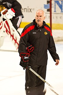 Joel Quenneville Canadian-American ice hockey coach