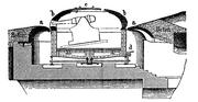 Coastal fortification, gun turret schematic