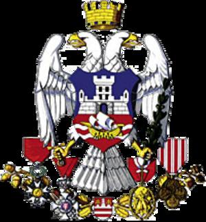 Coat of arms of Belgrade - Image: Coat of Arms Belgrade