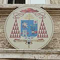 Coat of arms of Gualtiero Bassetti in Perugia palace.jpg