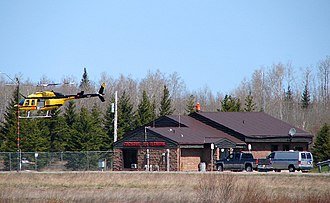 Cochrane Aerodrome - Image: Cochrane Airport