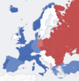 Cold war europe military alliances map.png