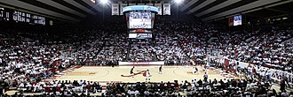 Coleman Coliseum - Coleman Coliseum during the 2015 Iron Bowl of Basketball.