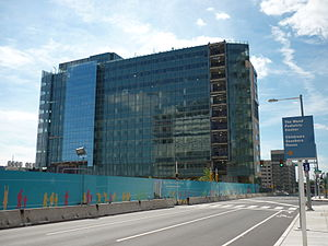 Children's Hospital of Philadelphia - Colket Translational Research Building, under construction in 2009