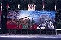 Collectie NMvWereldculturen, TM-20019404, Dia- Schildering ter gelegenheid van het 40-jarig jubileum van de viering van Onafhankelijkheidsdag, Henk van Rinsum, 08-1985.jpg