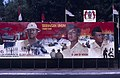 Collectie NMvWereldculturen, TM-20019409, Dia- Schildering ter gelegenheid van het 40-jarig jubileum van de viering van Onafhankelijkheidsdag, Henk van Rinsum, 08-1985.jpg