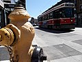 College hydrant and streetcar (21578456408).jpg