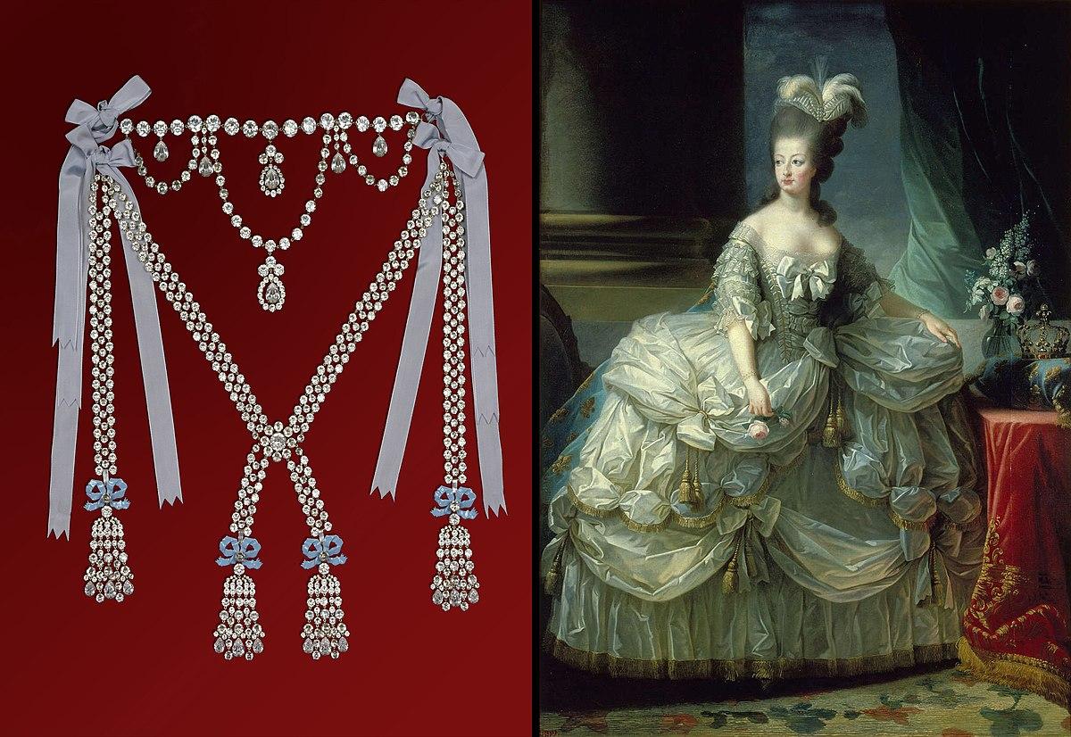 ожерелье королевы