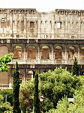 The Colosseum – a view from the Oppian Hill