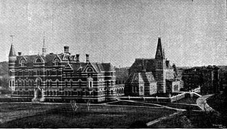 Gallaudet University - Columbia Institution for the Deaf, circa 1893, shortly before the collegiate department became named after T.H. Gallaudet