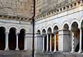 Columns of the cloister of Monastero di Santa Scolastica (Subiaco).jpg