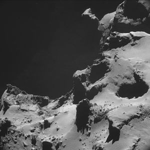 Comet 67P on 15 October 2014 NavCam A.jpg