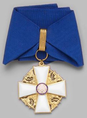 Order of the White Rose of Finland - Commander of the Order of the White Rose of Finland