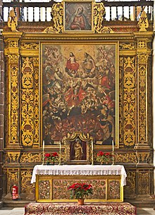 Altare delle anime del purgatorio, Chiesa della Concezione di Santa Cruz de Tenerife, Spagna