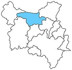 Localização do distrito de Conduru em Cachoeiro de Itapemirim