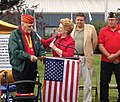 Congratulating the UP State Fair Veteran of the Year (7844506662).jpg