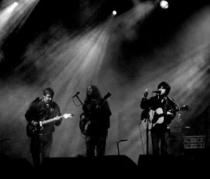 Conor Oberst and the Mystic Valley Band - Conor Oberst and the Mystic Valley Band at the Leeds Festival, 22 August 2008.