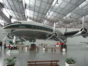 Panair do Brasil - A Lockheed Constellation L-049 preserved at TAM Museum