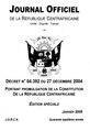 Constitution de la Centrafrique de 2004.pdf