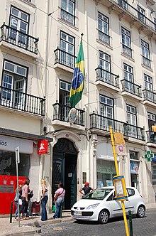 consulado do brasil em lisboa mapa Missões diplomáticas do Brasil – Wikipédia, a enciclopédia livre consulado do brasil em lisboa mapa