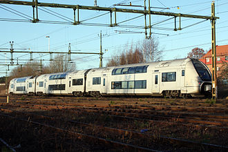 SJ AB - Image: Coradia Duplex SJ X40