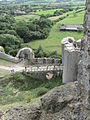 Corfe Castle south-west gatehouse.jpg
