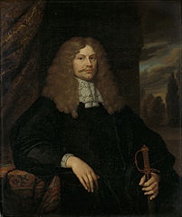 Portrait of Cornelis Backer (1633-81), councillor, alderman, and colonel of the Amsterdam militia