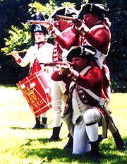 Cornwallis Re-enactment Coy 33rd Regt