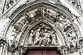 Coronation of Mary, Portal, Notre-Dame, Paris 29 May 2009 001.jpg