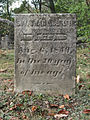 Coulter (Jonathan), Bethany Cemetery, 2015-10-09, 01.jpg