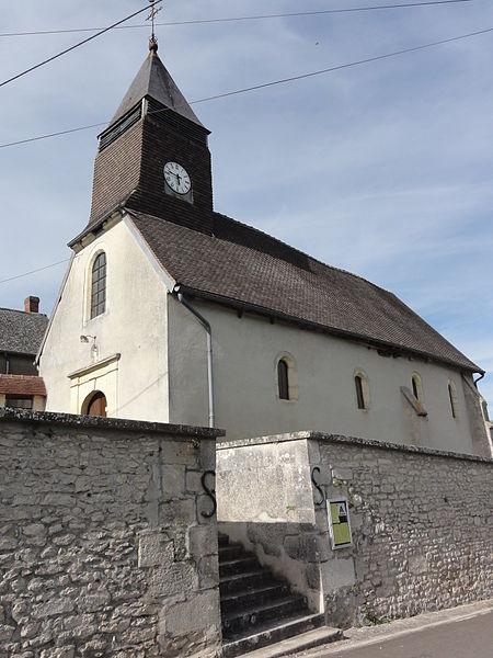Courtrizy-et-Fussigny (Aisne) église