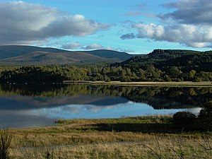 Loch Insh - Image: Creag Far Leitre geograph.org.uk 388289