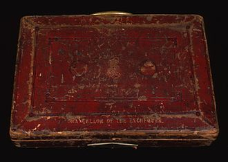 Chancellor of the Exchequer - Image: Cropped Gladstone's Red Box