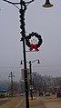 Cross Plains Pole Mounted Christmas wreaths - panoramio (1).jpg