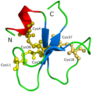 Myotoxin - Image: Crotamin 1H5O