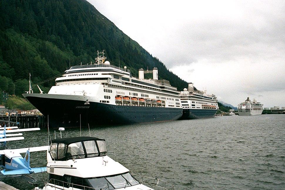 Cruise Ships in Juneau Alaska