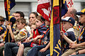Cub Scouts at 2012 Memorial Day Remembrance.jpg