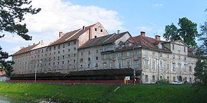 Dragotin Kette - The Cukrarna flophouse in Ljubljana, where Kette died in 1899.