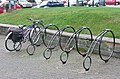 Cycle racks near the church. Tamworth - geograph.org.uk - 1741822.jpg