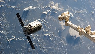 Orbital Sciences Corporation - Cygnus approaching ISS