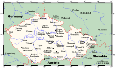 Geography, features of nature and the area of the Czech Republic. Interesting facts about the country