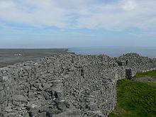 Walls Of Dún Aonghasa, A Dún On Inishmore, Ireland