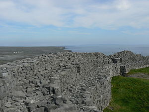 Dun - Walls of Dún Aonghasa, a dún on Inishmore, Ireland