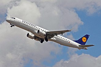 Flight length - Lufthansa considers the Embraer E-190 as a short-haul airliner