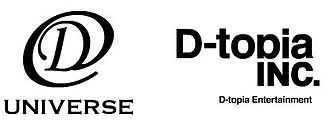 D-topia Entertainment - Logo of D-Topia Universe (left), a new label in partnership and distribution with Universal Music Japan created in September 2010.