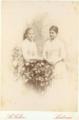 D. Maria Teresa de Sousa Botelho e Melo, 2.ª Condessa de Mangualde, e sua irmã D. Maria dos Prazeres de Sousa Botelho Mourão e Vasconcelos (Arquivo da Casa de Mateus).png